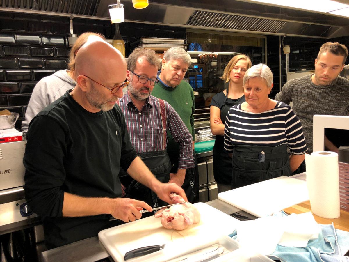 Restaurant Razzia – Messerworkshop Zyliss