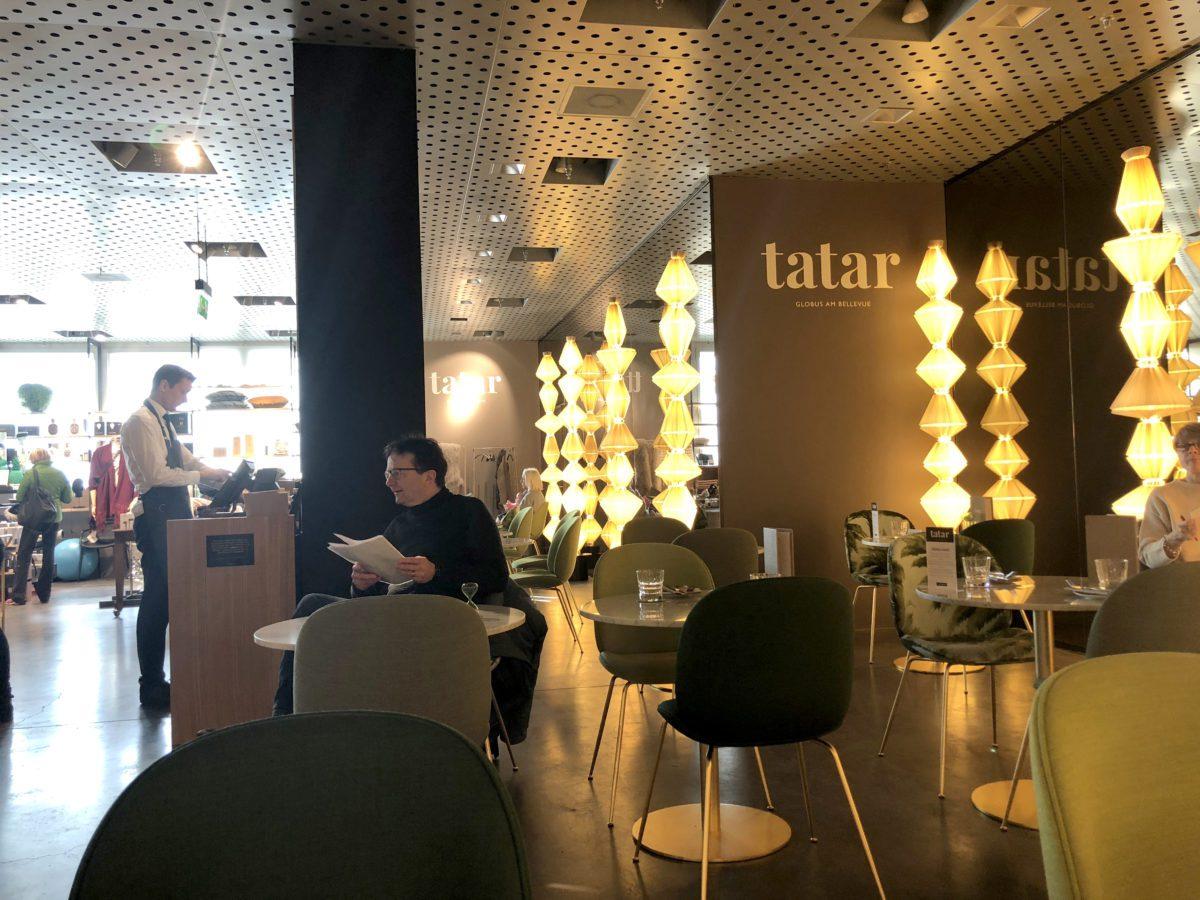 Restaurant «tatar» Globus am Bellevue