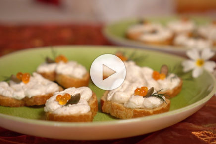 Crostini – Rauch-Forellenmousse