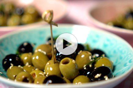 Oliven mariniert nach Mel B.