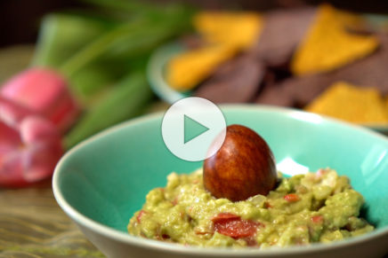 Tortilla Chips – rassige Guacamole