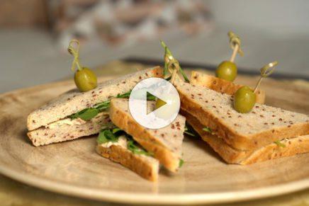 Tramezzini – Pomodori Secchi Mousse