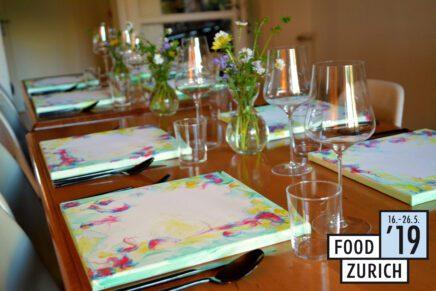 FOOD ZURICH Food Pairing mit Mel B.