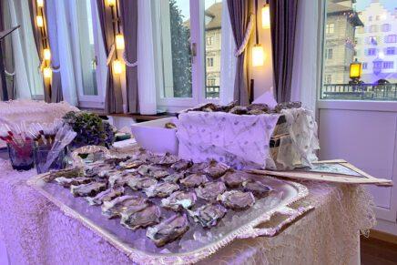 Fischerzunft Fischbuffet 2020 im Storchen Zürich